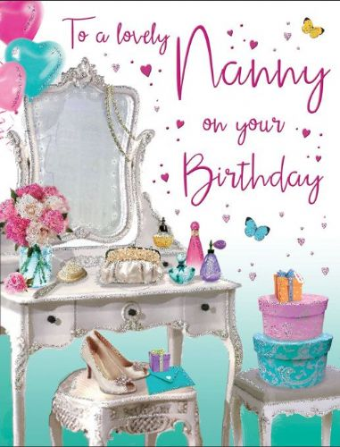 To A Lovely Nanny On Your Birthday Make Up / Shoes